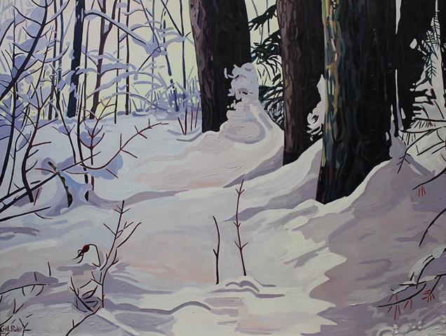December Snowscape