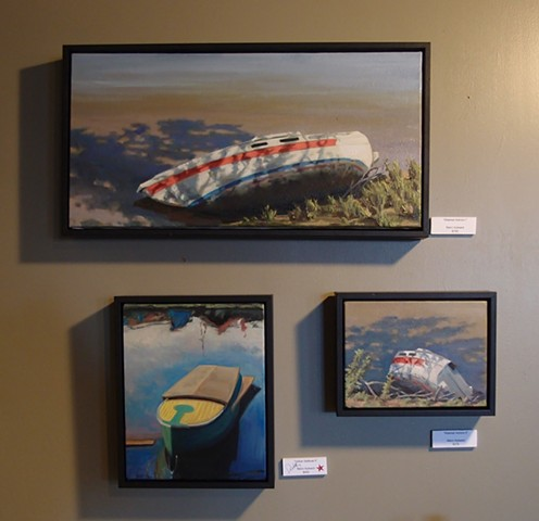 """Water Transport"" October 2014 at The Late Show Gallery Kansas City, Missouri USA"