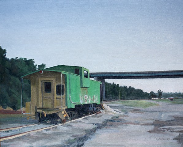 Green Caboose