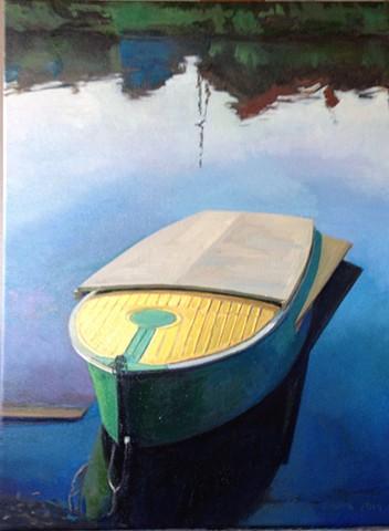 """Yellow Sailboat I"""