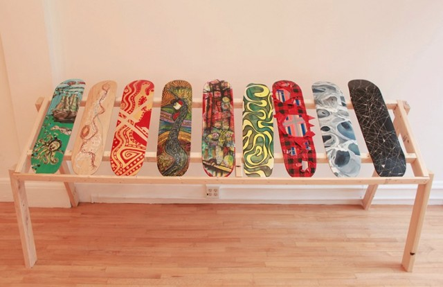 skate decks at preview