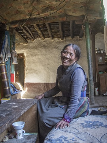 The Horseman's Wife, Lo Mantang, Nepal