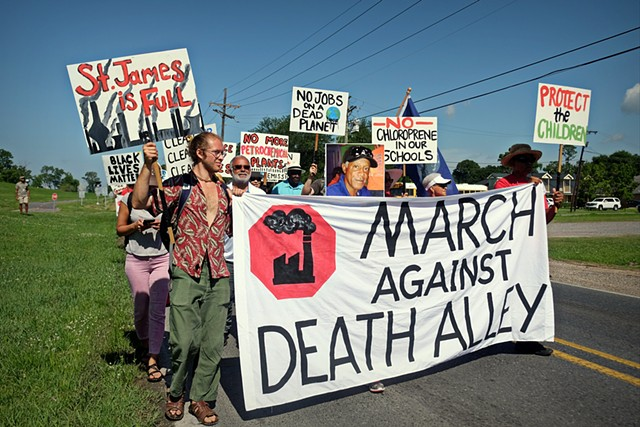 March Against Death Alley