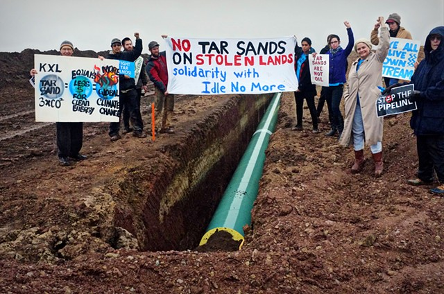 Great Plains Tar Sands Resistance tar sands blockade oklahoma