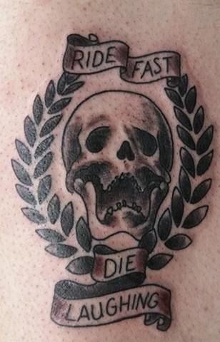 Ride Fast tattoo