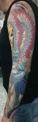 Hussar Sleeve tattoo