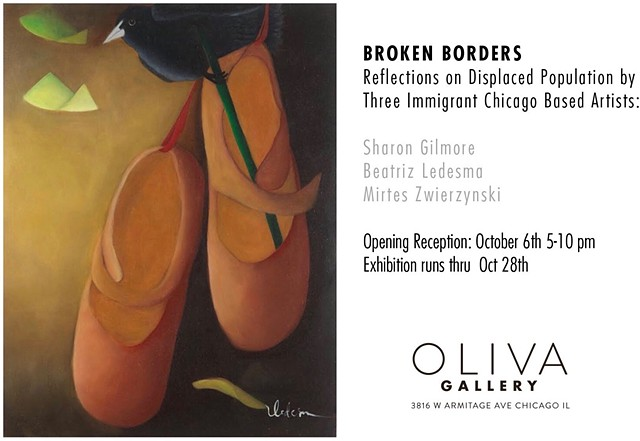 Broken Borders- Reflections on Displaced Population by Three Immigrant Chicago-Based Artists