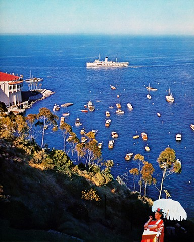 Frida In Los Angeles:  Catalina Island