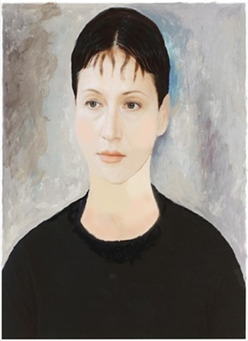 Jackie as Madame Zborowska by Modigliani