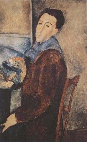 Self-Portrait by Modigliani