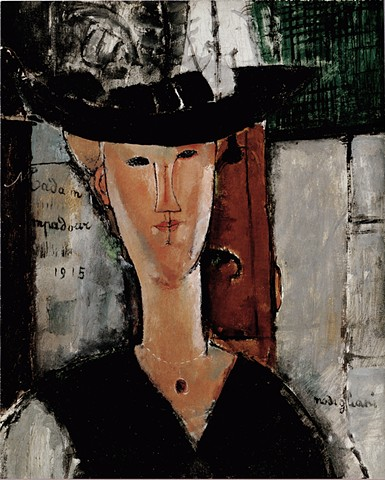 Mme. Pompadour by Modigliani