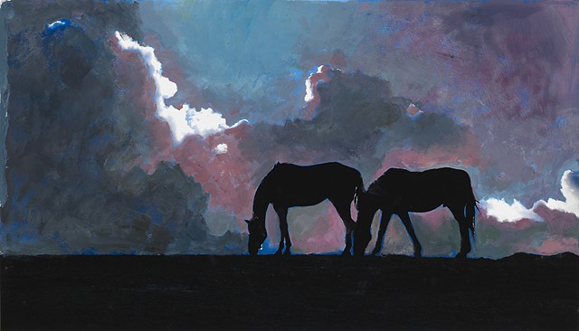 Manuela Hung and Arthur Lerner: Horses in Mourning