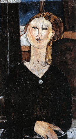 Antonia by Modigliani