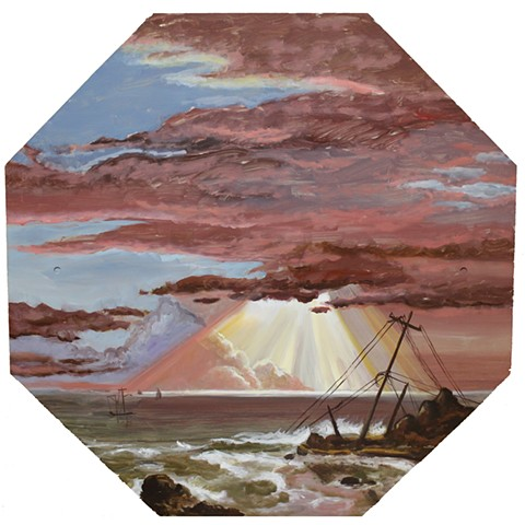 The Wreck (Frederic Edwin Church, The Wreck)