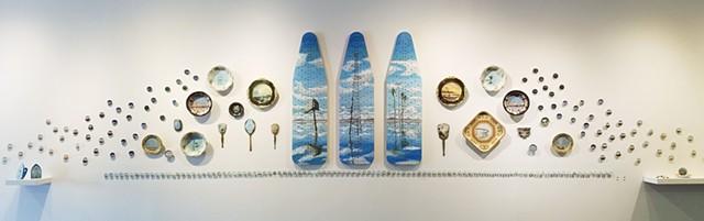 Vanity, full exhibition installation