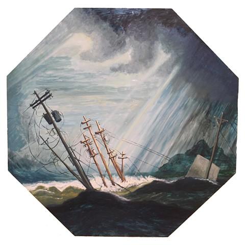 Storm at Sea (Robert Salmon 1840, Storm at Sea)
