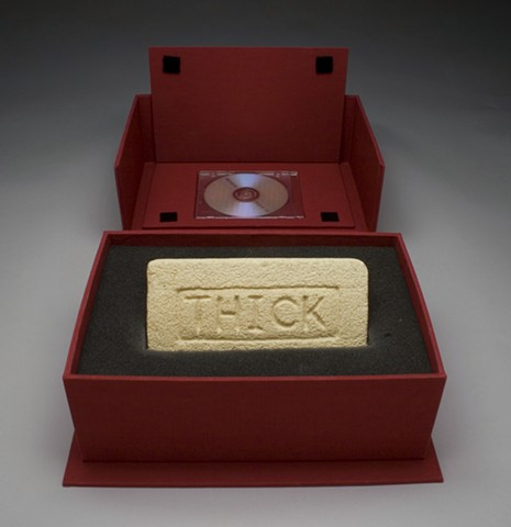 Hand-carved Brick in a Cloth-coverd Clamshell Box with a DVD (Special Collector's Edition)