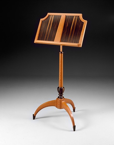 Music Stand of wood