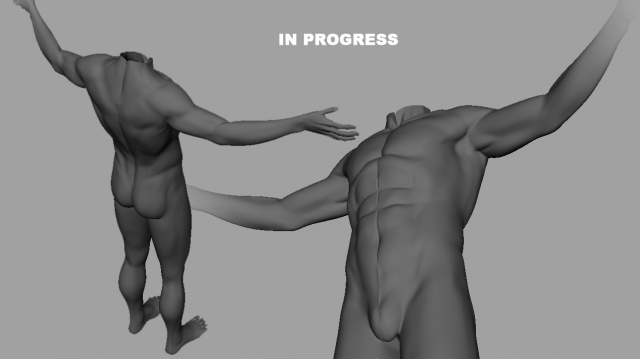 Male Primitive (In Progress)