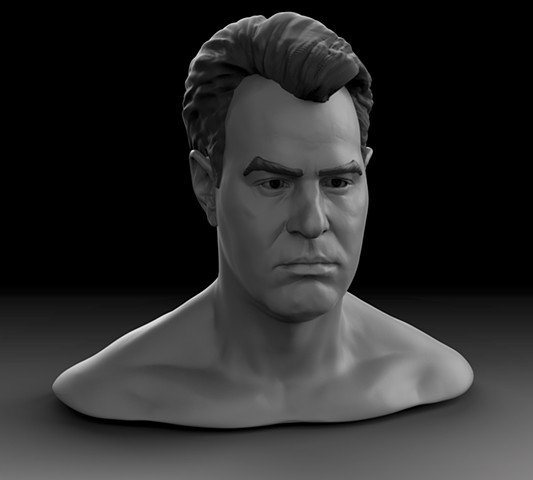 Dan Aykroyd 1984 likeness (in progress) 2