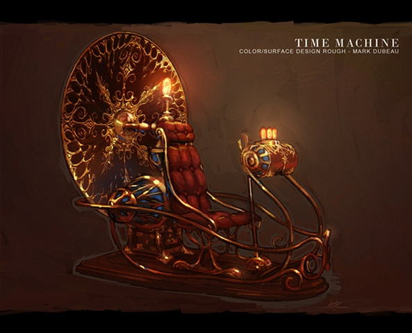 Time Machine Concept - Librarian 3