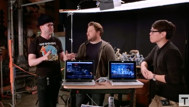 Fabricating the Stop-Motion Puppets in Star Wars: The Force Awakens