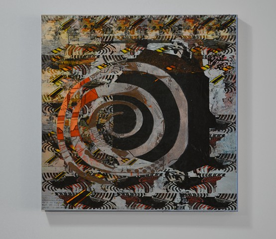 contemporary art, collage, printmaking
