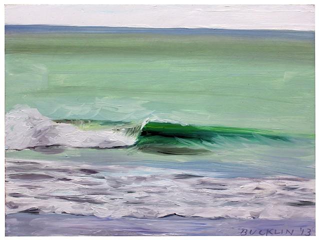 """Jade Green Wave"""
