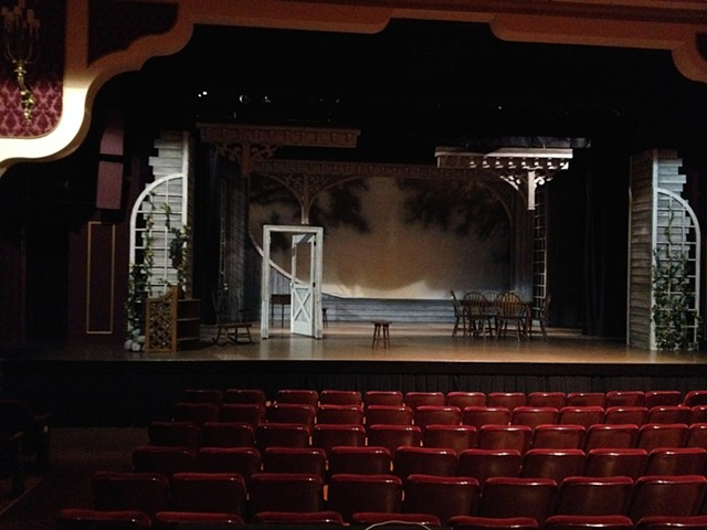 The Miracle Worker l Barter Theatre -Finished Set