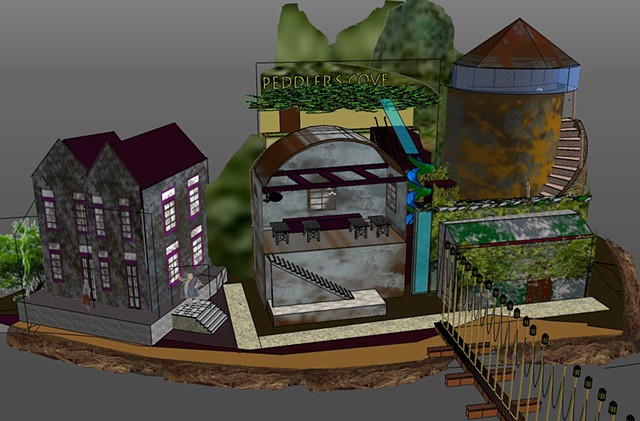 The Greatest Pirate Adventure: Sketchup