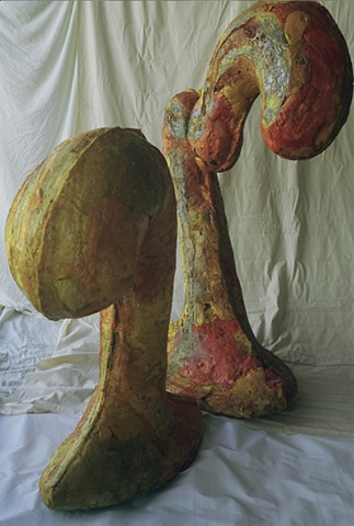 Adam Derums, biomorphic sculpture, WA, artsist