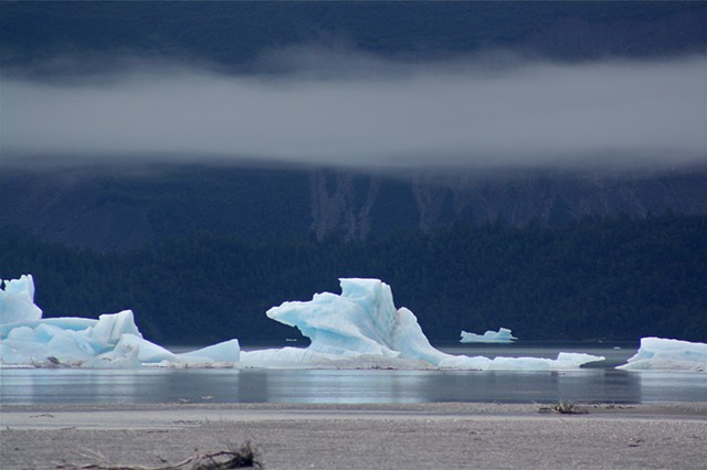 Alsek lake Ice