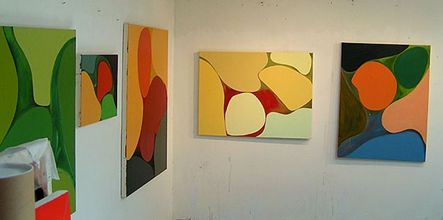 gary paller 5 abstractions in studio