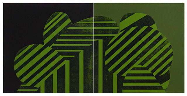 Diptych - Zealous Spring/Zippy Greens