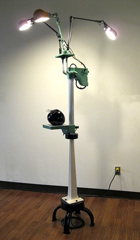 """Eclectic Floor Lamp"" by Dave Carrow"