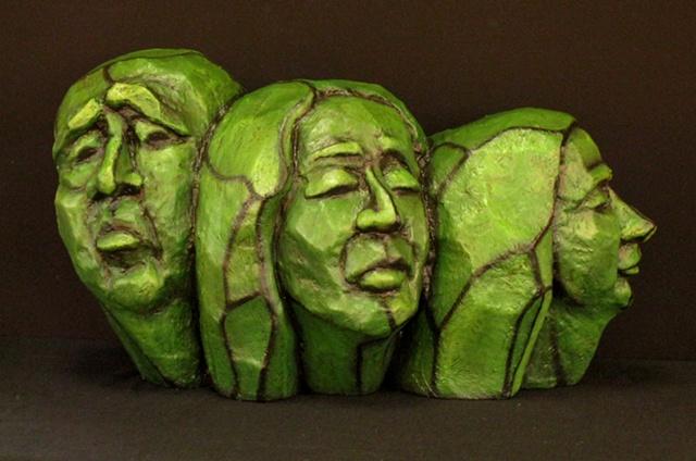tronie head sculpture Michelle Post