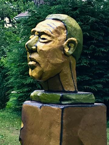 tronie, tronies, heads, sculpture, portrait, styrofoam sculpture.