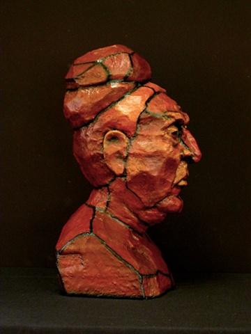 Tronie head sculpture Miami Art Basel Michelle Post