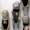 "Pam Lethbridge ""Wall Dolls"" detail"