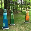 Tronies At SculptureNow, The Mount, Lenox, MA
