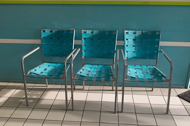 Laundromat Chairs