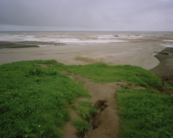 Mouth of Santa Rosa Creek, Moonstone Beach, San Luis Obispo County, 2006