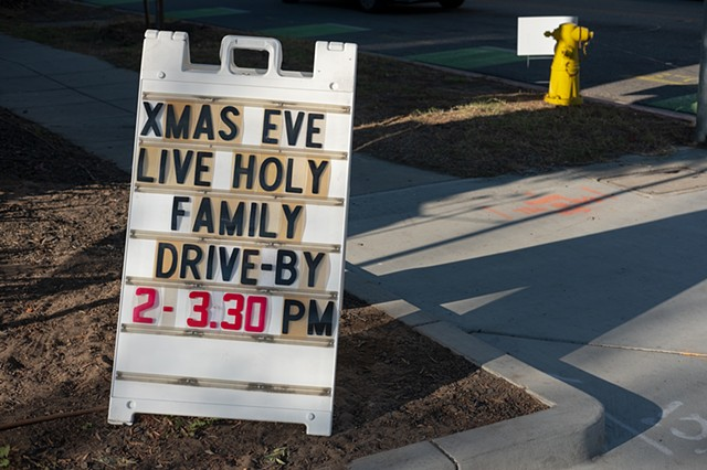 Holy Family Drive-By