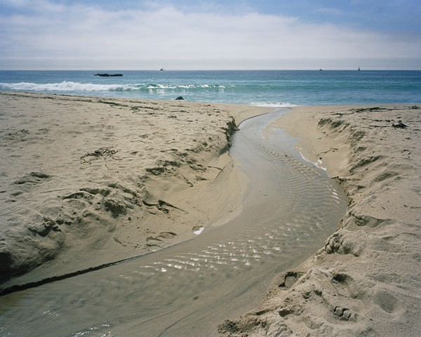 Mouth of Lower Dowd Creek, Garapatta State Beach, Monterey County, 2005