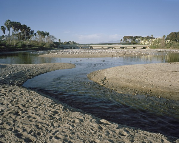 Mouth of San Juan Creek and Pacific Coast Highway, Dohney State Beach, Orange County, 2008