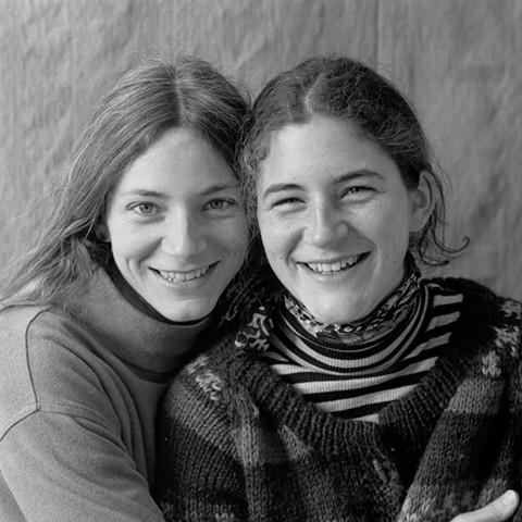 Simone and Claire Liniger, circa 1996