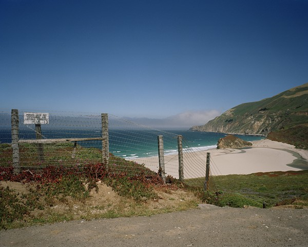 Overlooking the Mouth of the Little Sur River, Monterey County, 2004
