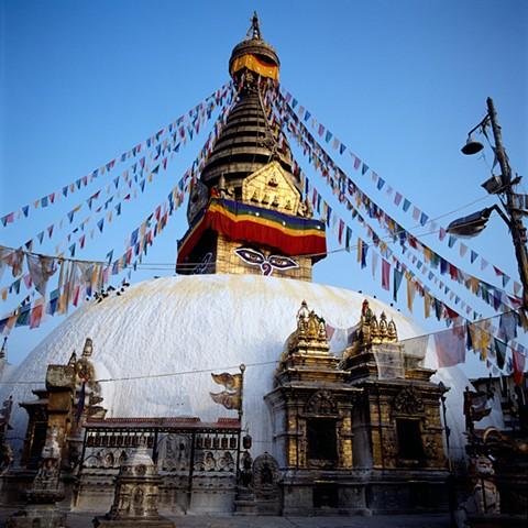 Swyambhunath, Nepal, 1992