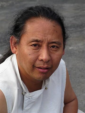Lama Tenzin Samphel, circa 2009