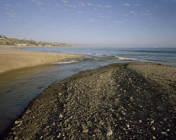 Mouth of San Juan Creek, Dohney State Beach, Orange County, 2008